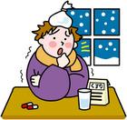 また風邪ひきました