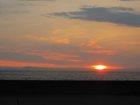 伊良湖岬の夕焼け