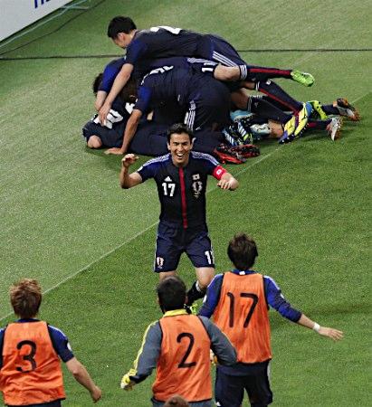 サッカー日本、分けでW杯決定 5大会連続、豪と1―1